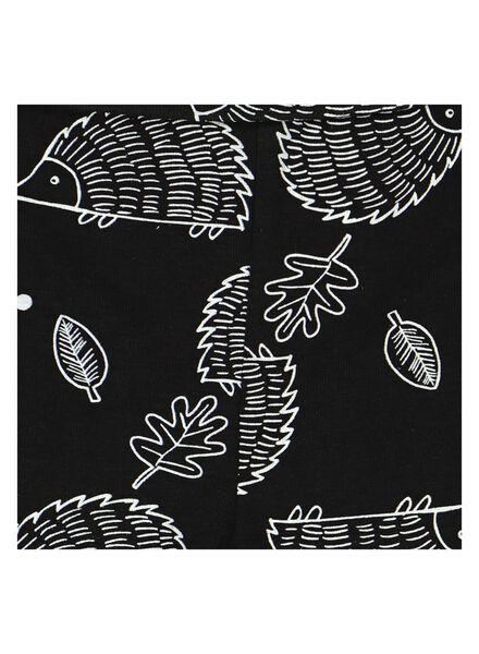 newborn broek met bamboe zwart zwart - 1000014051 - HEMA