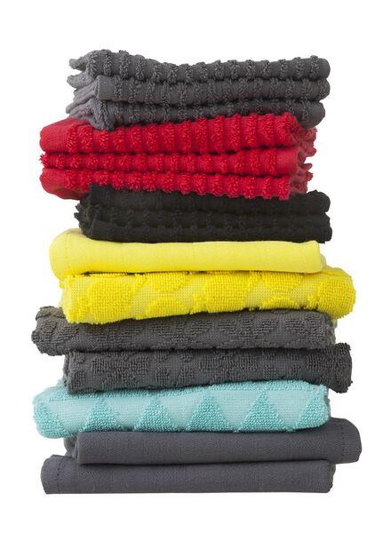 kitchen towel 50 x 50 cm keukendoek dark grey - 5440247 - hema