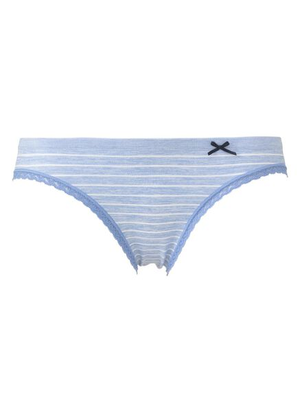 HEMA Slip Sans Coutures Femme Bleu Clair (bleu clair)