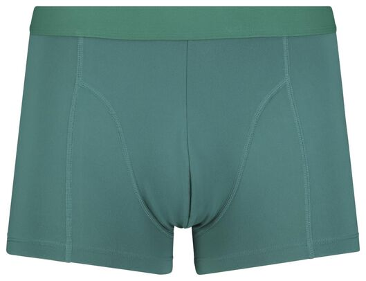 2-pack men's boxer shorts short recycled micro green green - 1000018777 - hema