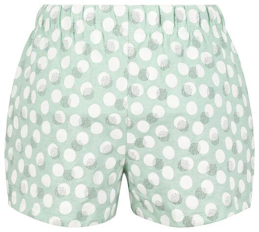 women's short pyjamas light green light green - 1000020056 - hema