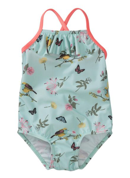 baby swimsuit light blue light blue - 1000004889 - hema