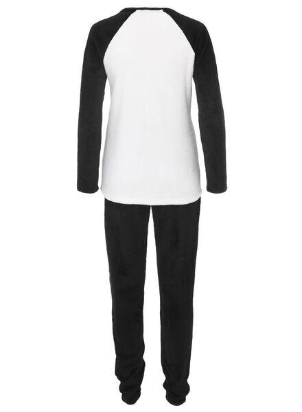women's pyjamas black/white black/white - 1000011554 - hema