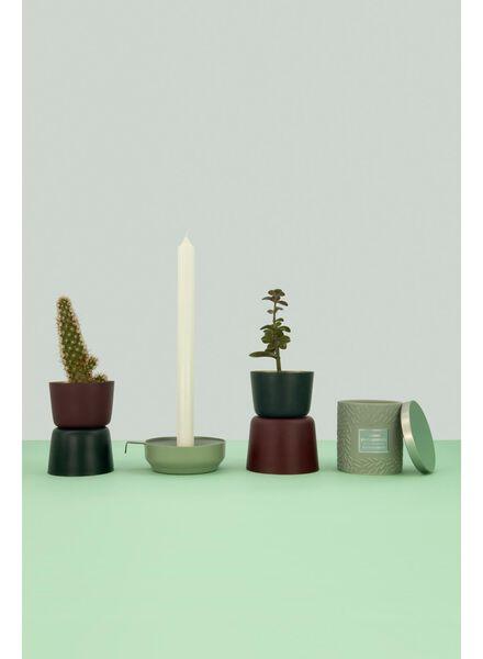 bougie parfumée dans un vase Ø 8 cm grenade - 13501967 - HEMA
