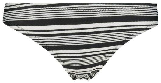 women's bikini bottoms black/white black/white - 1000017895 - hema