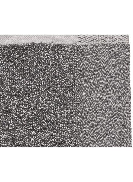 serviette de bain - 50x100 cm - bambou - gris foncé gris foncé serviette 50 x 100 - 5200112 - HEMA