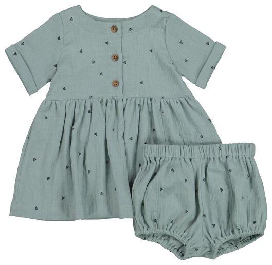 Babykleiderroecke - HEMA Baby Set Blau - Onlineshop HEMA