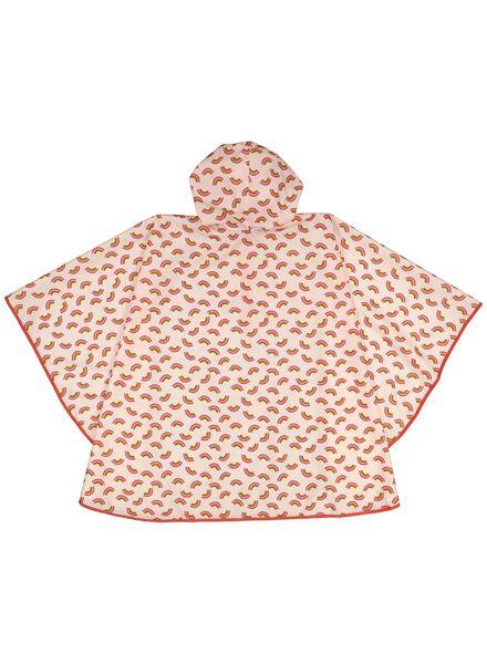 pink rain poncho - 60500494 - hema