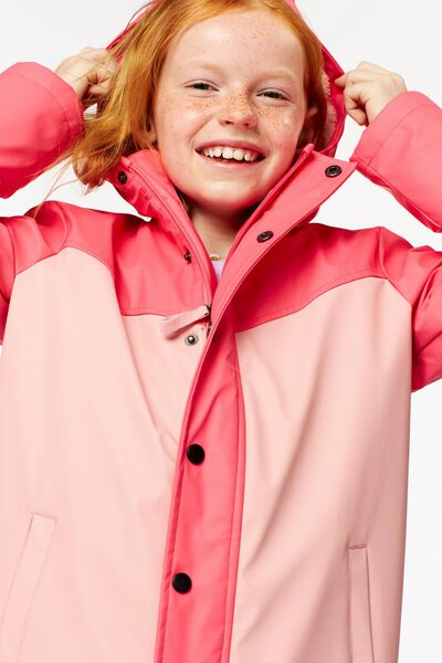manteau enfant rose rose - 1000024418 - HEMA