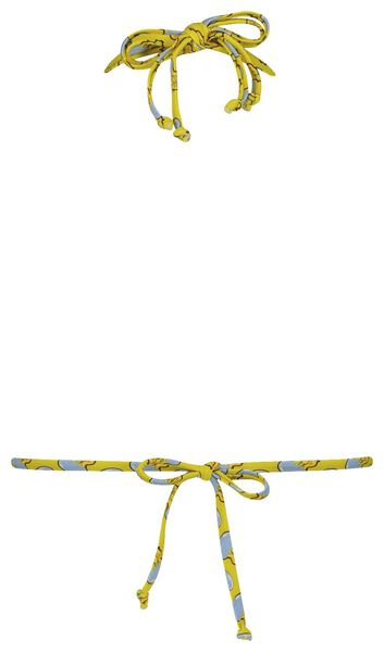 women's padded triangle bikini top - Studio Job yellow yellow - 1000018462 - hema