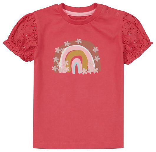 Baby-T-Shirt, Regenbogen rosa rosa - 1000024078 - HEMA