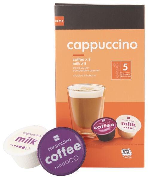 8er-Pack Kaffeekapseln – Cappuccino - 17100130 - HEMA