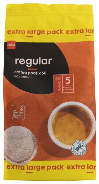 56er-Pack Kaffeepads, Regular - 17150034 - HEMA