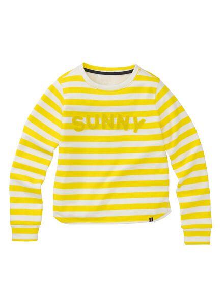 children's sweatshirt yellow yellow - 1000005868 - hema