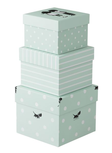 3 boîtes en carton - 39800008 - HEMA