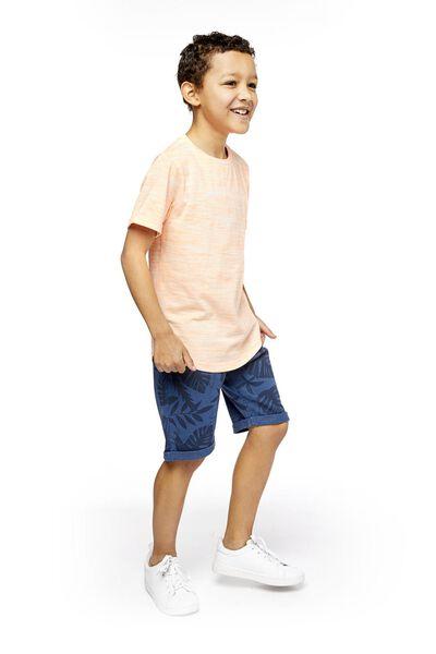 2-pack children's shorts blue blue - 1000019017 - hema