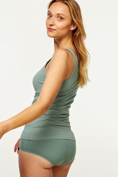 women's singlet cotton green green - 1000017959 - hema