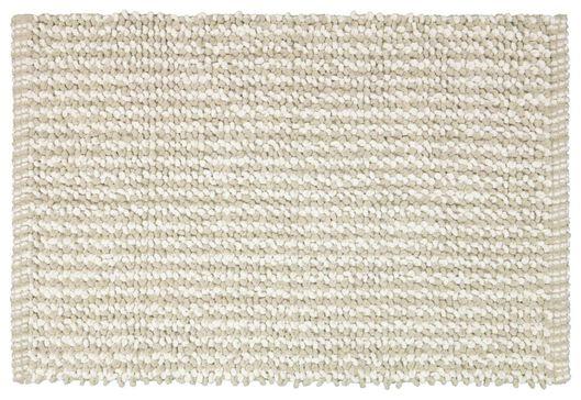 Matematte mit Schlingen, 50 x 85 cm, Baumwolle, taupe - 5240025 - HEMA