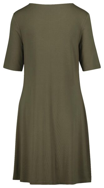 women's dress olive olive - 1000019283 - hema