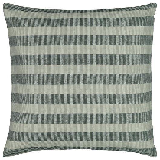 cushion cover - 50x50 - stripe - green/white - 7320022 - hema