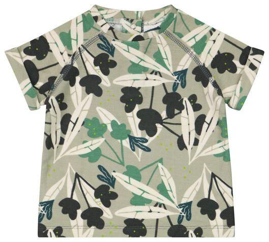 Baby-T-Shirt grün grün - 1000023446 - HEMA