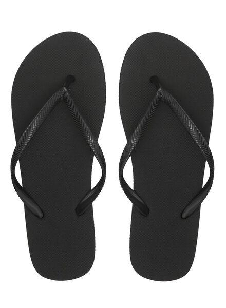Zehensandalen schwarz schwarz - 1000012348 - HEMA