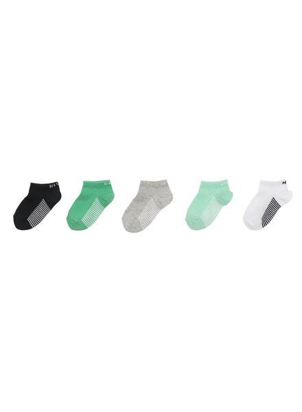 5 paires de chaussettes enfant multi multi - 1000011782 - HEMA