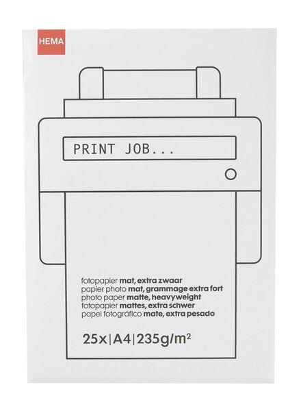papier photo mat - 38340085 - HEMA