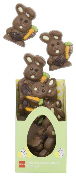 lapins de Pâques en chocolat au lait 180g - 10081037 - HEMA