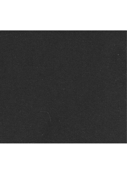 men's slim fit T-shirt extra long black black - 1000005987 - hema