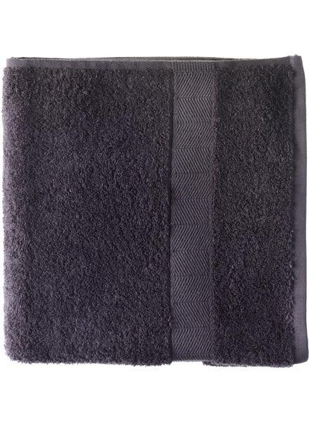 Handtuch - 50x100cm - schwere Qualität - dunkelgrau - 5212602 - HEMA