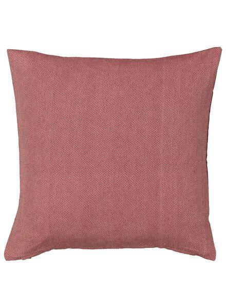 housse de coussin - 50 x 50 - rose - 7392011 - HEMA