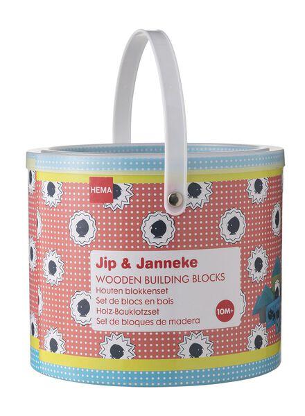 Jip & Janneke-Holzbauklötze - 15140011 - HEMA