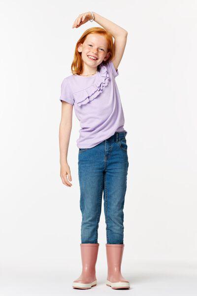 t-shirt enfant volant lilas lilas - 1000024697 - HEMA