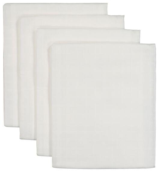 4-pack muslin squares 60x60 cm - 33345930 - hema