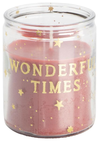 candle vase Ø6.5 wonderful times - 13502476 - hema