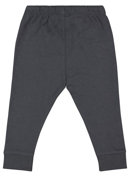 baby sweatpants dark grey dark grey - 1000017452 - hema
