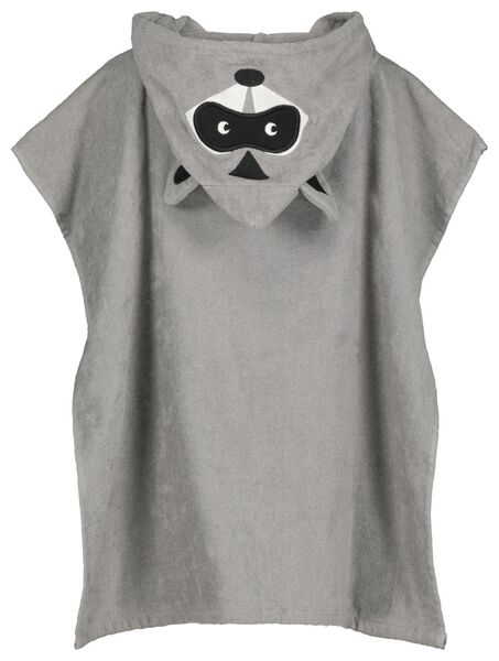 children's beach poncho velvet raccoon - 5210126 - hema