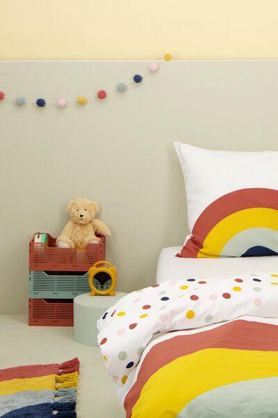 Kinder-Bettwäsche, 140 x 200 cm, Soft Cotton, Regenbogen - 5720155 - HEMA