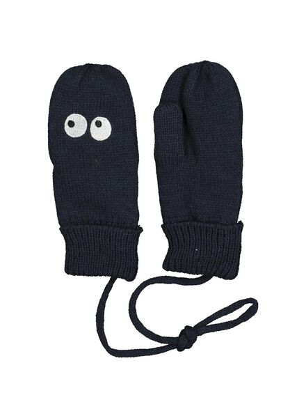 children's mittens blue blue - 1000014472 - hema