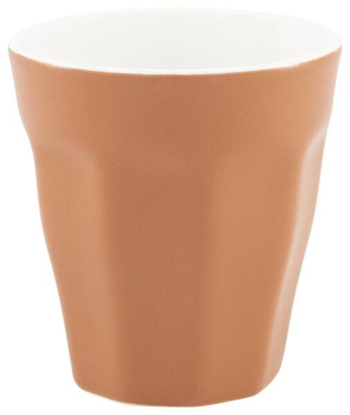 mug - 250 ml - Mirabeau mat - terracotta - 9602207 - HEMA