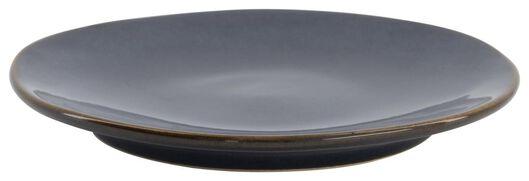 assiette à dessert - 16,5 cm - Porto - émail réactif - bleu foncé - 9602217 - HEMA
