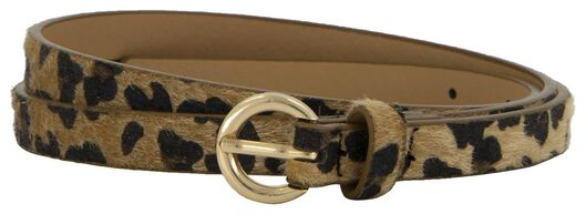 2 women's belts natural natural - 1000018094 - hema