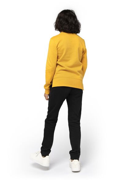 pantalon sweat enfant noir noir - 1000016749 - HEMA