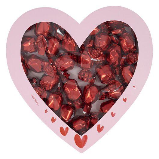 hartvormige doos met chocolade - 60900346 - HEMA