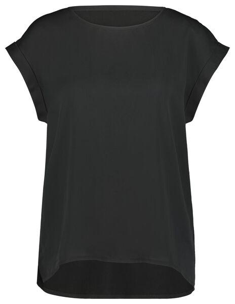 dames top zwart zwart - 1000023956 - HEMA