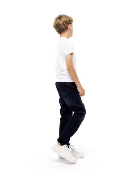 pantalon enfant denim foncé denim foncé - 1000004550 - HEMA