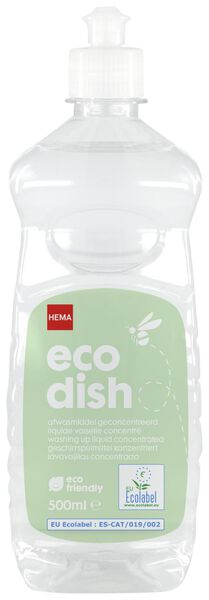 eco dish washing liquid concentrated - 500 ml - 20510032 - hema