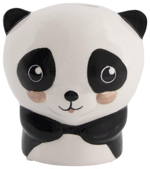 money box 12x11x9 - ceramic panda - 61122852 - hema