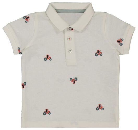 baby polo shirt off-white off-white - 1000018070 - hema
